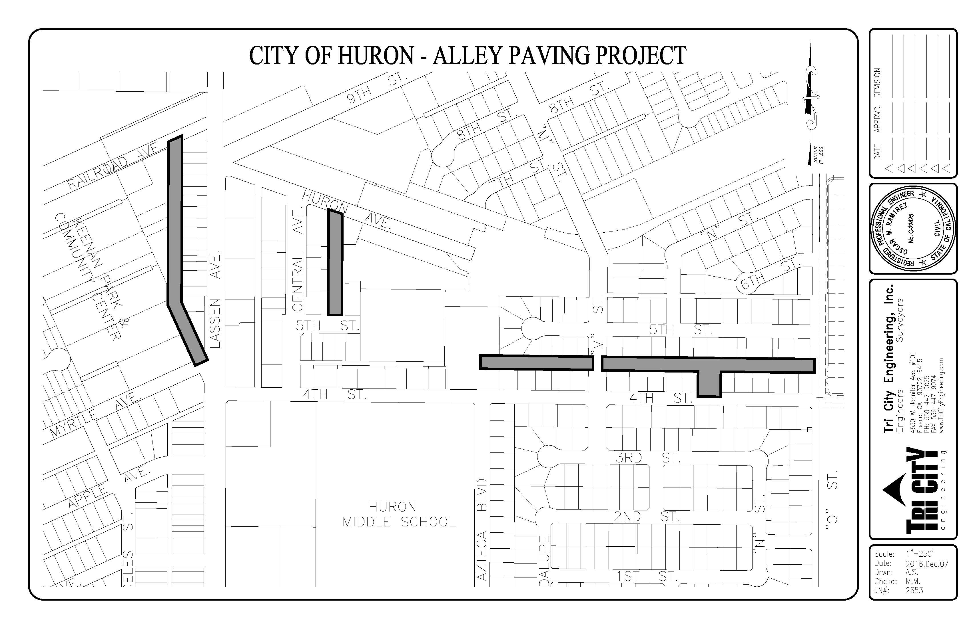 Alley Paving Project (CMAQ)